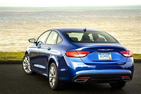 Fuel Economy Chrysler 200 by 2015 Chrysler 200 Fuel Economy Figures Officially Released