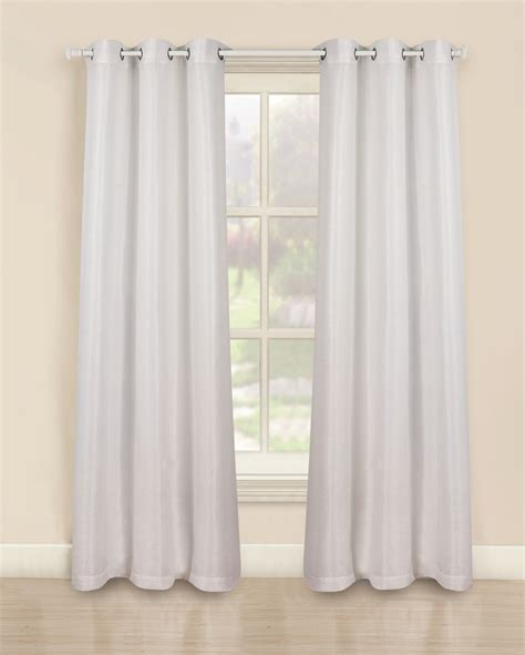 Kmart White Sheer Curtains by Metallic Curtain Panels White Home Home Decor