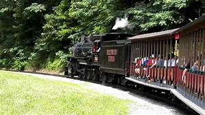 Steam Locomotive Katie Pulling The Dollywood Express Train