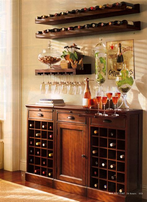 Kitchen Buffet Area by Holman Entertaining Shelf Set Of 2 One Of Each Espresso