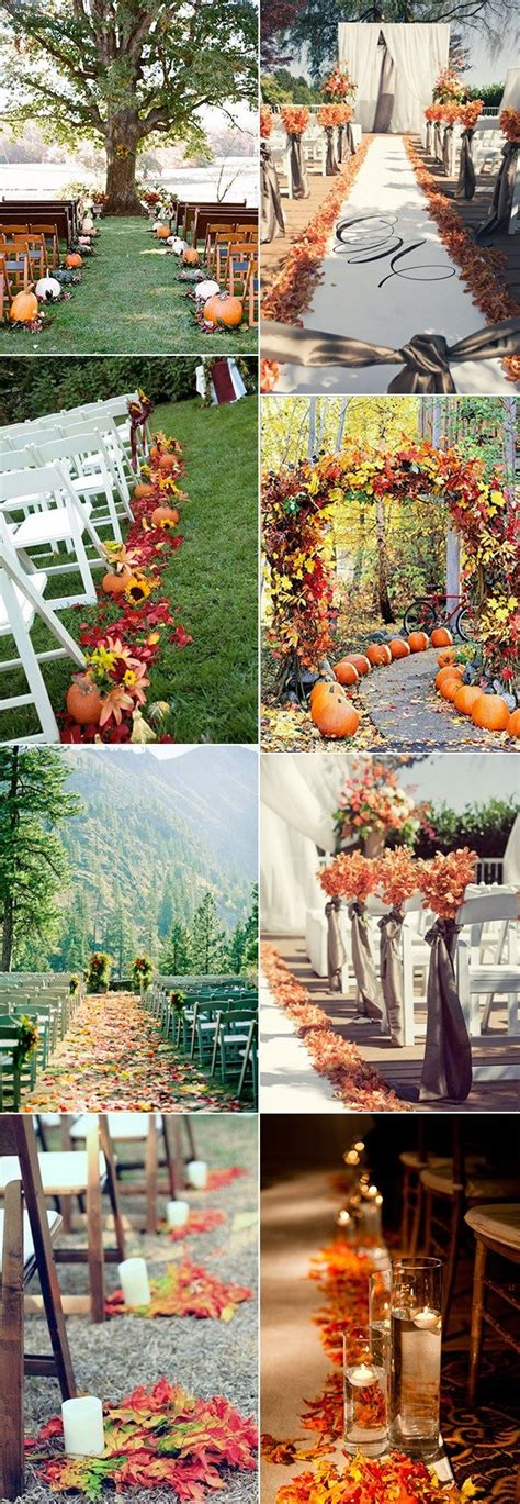 70+ Amazing Fall Wedding Ideas for 2018 Oh Best Day Ever