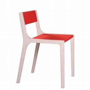 Chaise Pour Bureau : chaise de bureau design slawomir rouge sirch pour chambre enfant les enfants du design ~ Teatrodelosmanantiales.com Idées de Décoration