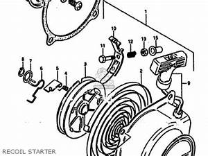 kawasaki brute force wiring harness get free image about With diagram of suzuki atv parts 1985 lt250ef recoil starter diagram