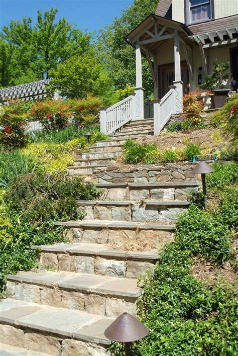 outdoor steps ideas landscape traditional with