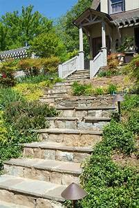 outdoor stone steps ideas landscape traditional with With outdoor lighting for stone steps