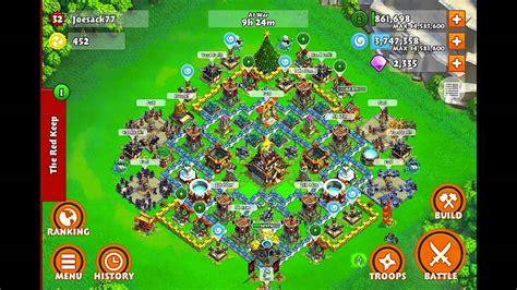 siege defence samurai siege castle lvl8 base design