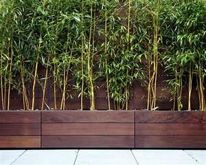 Holz Sichtschutz Balkon : 61 ideen f r bambus im garten als sichtschutz oder deko ~ Sanjose-hotels-ca.com Haus und Dekorationen