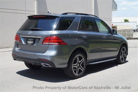 Mercedes benz ml350 suv's average market price (msrp) is found to be from $35,000 to $74,000. 2018 Used Mercedes-Benz GLE 350 4MATIC AMG LINE SUV at MotorCars of Nashville - Mt Juliet ...