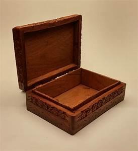 MacroSun International » Carved Wood Box
