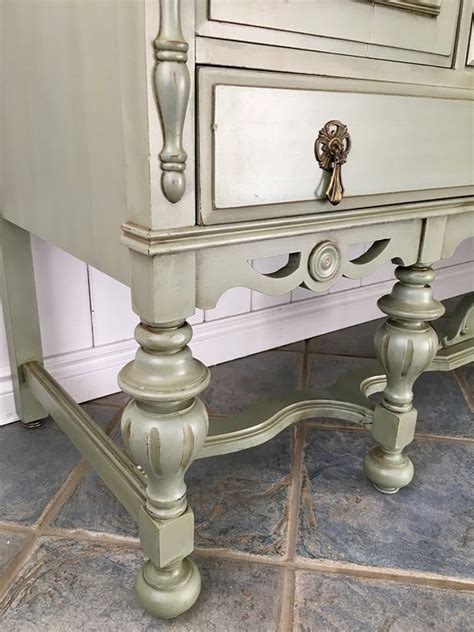 Buffet in Basil & Early American   General Finishes Design