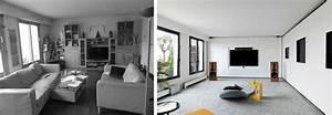 avant apres architecture d39interieur d39un 4 pieces de With decoration d interieur appartement