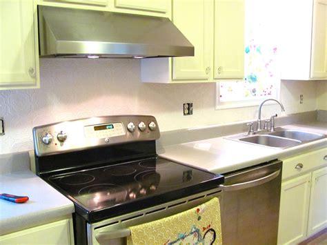 wallpaper for backsplash in kitchen silver lining decor wallpaper backsplash d i y part 1