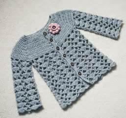 Free Crochet Patterns Girl Cardigan Sweater