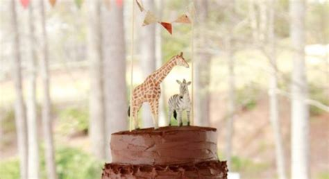 karas party ideas girly safari themed  birthday party