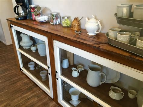 how to build a buffet table remodelaholic how to build a buffet from old windows and