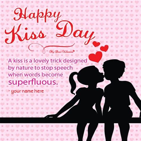 kiss day wishes images
