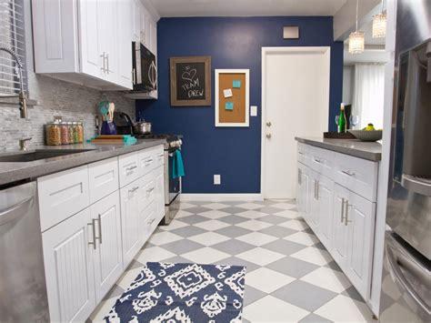 checkerboard kitchen floor photo page hgtv 2130