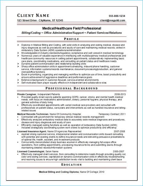 Experienced Healthcare Professional Resume by Resume Writing Guild Resume Exle 5
