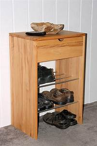 Kommode Kernbuche Geölt : massivholz kommode schuhschrank dielenm bel kernbuche ge lt gewachst ~ Watch28wear.com Haus und Dekorationen