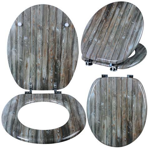siege de wc wc siège couvercle de toilettes bois abattant abattant wc
