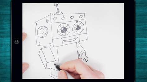roboter zeichnen youtube