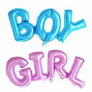 boy girl connection letter foil balloons children party With helium letter balloons