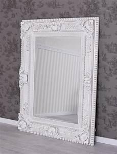 Vintage Spiegel Weiß : badspiegel barock spiegel weiss vintage wandspiegel prunkrahmen ~ Indierocktalk.com Haus und Dekorationen