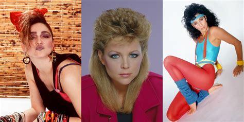 bad  beauty trends embarrassing eighties hairstyles
