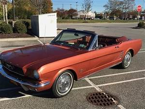 1966 Ford Mustang Convertible Emberglo Rare Color! Pony Interior Nice! for sale - Ford Mustang ...