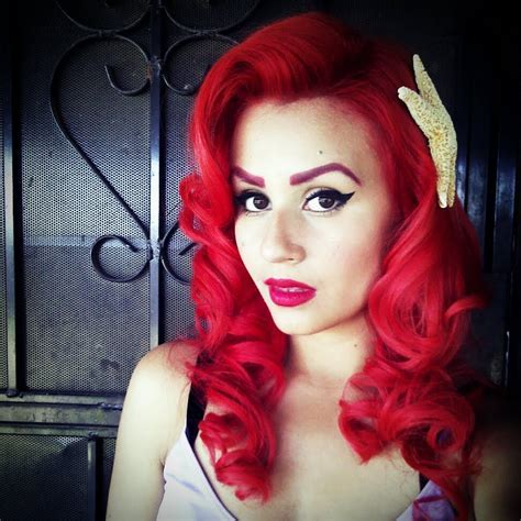 My everyday makeup (pinup inspired)   YouTube