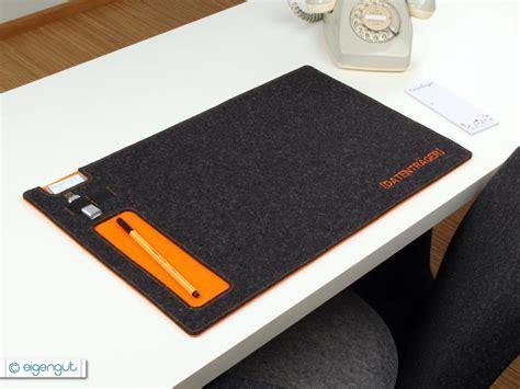 Schreibtischunterlagen : Schreibtischunterlage aus Filz
