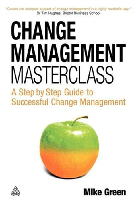 change management masterclass  step  step guide