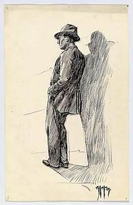 """Man Leaning Against a Wall"" Edward Hopper, 1899 ..."