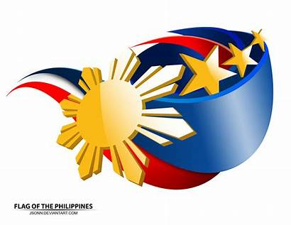 Philippine Flag Philippines Vector Graphics Newdesignfile Outline
