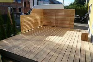 Sage und hobelwerk terrasse for Lärchenholz terrasse