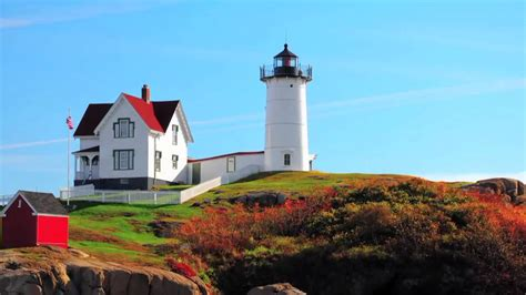 lighthouses in the usa maine travel guide usa the nubble lighthouse in york youtube