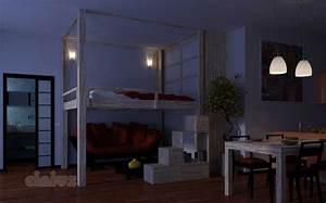 Bett An Der Decke Befestigen : hochbetten rising ~ Bigdaddyawards.com Haus und Dekorationen