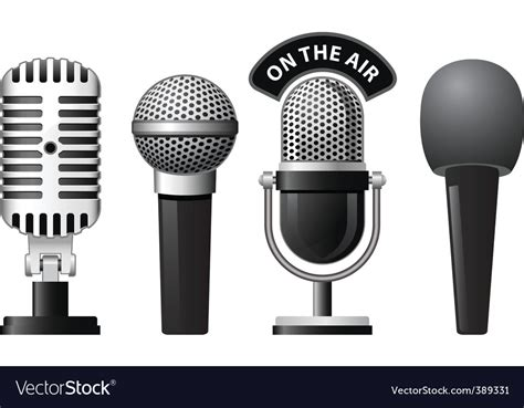 Microphone Royalty Free Vector Image