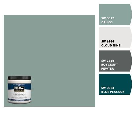 top paint color is suppose to be a match to behr s mermaid