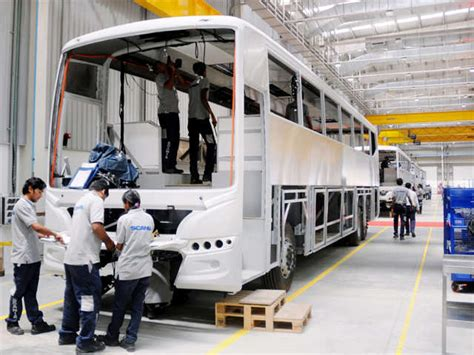 scania  open bus manufacturing facility  bangalore