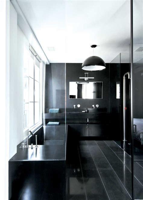 salle de bain design salle de bain design noir et gris
