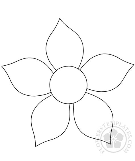 flower cutouts printable flowers templates
