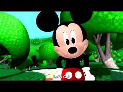 Mickey Mouse Clubhouse Theme Song HD + Lyrics - YouTube