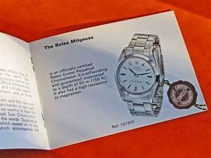 Vintage N O S Rolex 1019 Milgauss 1975 Instruction Booklet