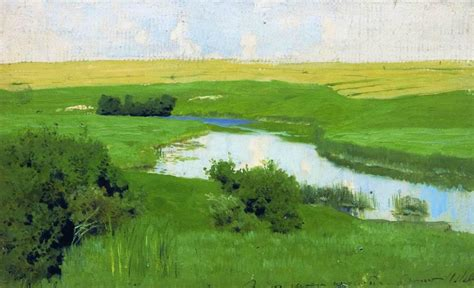 The Istra River - Isaac Levitan - WikiArt.org ...