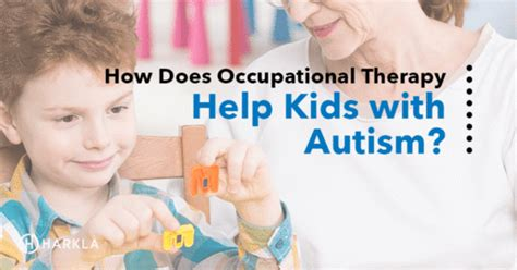 occupational therapy  kids  autism