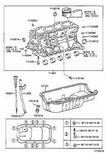 Toyota Tercel Pan Sub-assembly  Oil  Engine