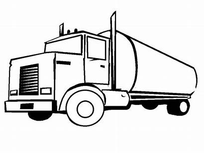 Coloring Truck Pages Coloringpages1001