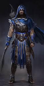 ArtStation - Hero of Athens, Gabriel Blain | ideas ...