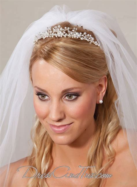 Princess Rhinestone Silver Wedding Tiara